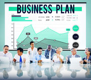 Business Plan Strategy Marketing Concept Royalty Free Stock Images