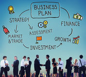 Business Plan Strategy Marketing Vision Concept Royalty Free Stock Photography