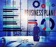 Business Plan Strategy Planning Vision Concept Royalty Free Stock Images