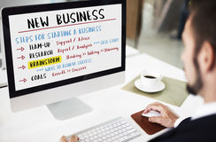 Business Plan Strategy Success Goals Research Concept. Business Plan Strategy Success Goals Concept royalty free stock image