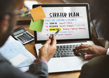 Business Plan Strategy Success Goals Research Concept. Business People Plan Strategy Success Goals Research royalty free stock photos