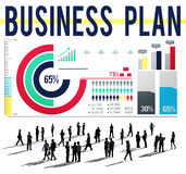 Business Plan Strategy Tactics Vision Concept Royalty Free Stock Photography