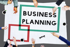 Business Plan Strategy Vision Tactics Direction Concept Stock Photo