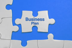 Business Plan Text - Business Concept Royalty Free Stock Photography