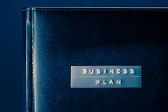 Business plan title Stock Photos