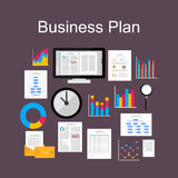 Business Plan tools Stock Photo