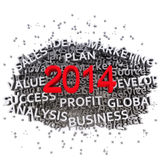 Business plan 2014 Royalty Free Stock Image