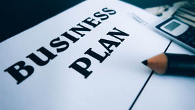 Business plan. Work economy s Royalty Free Stock Image