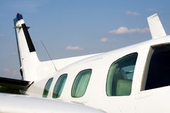 Business plane small jet plane Royalty Free Stock Images