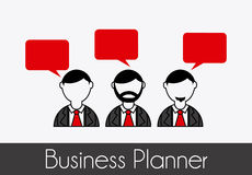 Business planner Stock Image