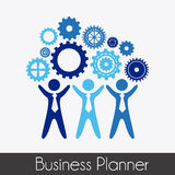 Business planner Royalty Free Stock Photo