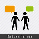 Business planner Stock Images
