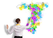 Business planning Stock Images