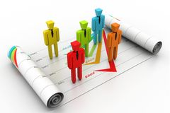 Business planning concept Stock Image
