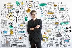 Business planning concept Stock Photography
