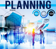 Business Planning Data Analysis Strategy Concept Royalty Free Stock Photography