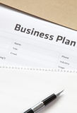 Business planning royalty free stock photos