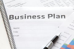 Business planning Stock Image