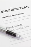 Business planning stock photo