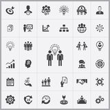 Business planning icons universal set. For web and mobile Stock Photo