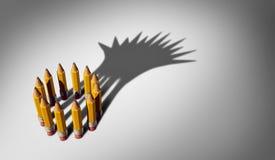 Business Planning Leadership royalty free illustration