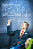 Business planning Royalty Free Stock Image