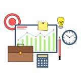 Business planning strategy illustration. Design Stock Photo