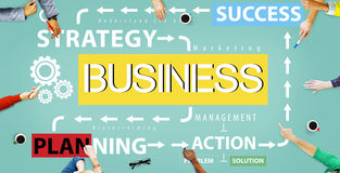 Business Planning Strategy Success Action Concept Royalty Free Stock Photography