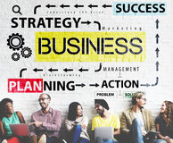 Business Planning Strategy Success Action Concept Royalty Free Stock Photos
