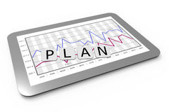 Business planning Royalty Free Stock Images