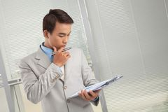 Business plans Stock Photography