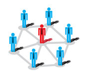 Business plans. Network of business plans. The Highlights and success Stock Photo