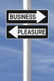 Business or Pleasure Stock Photography