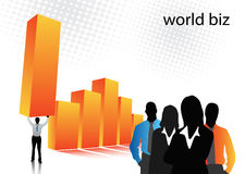 Business poeple. Vector illustration of business people vector illustration
