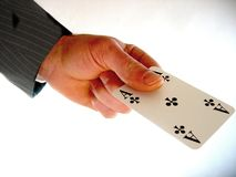 Business Poker. Card stock images