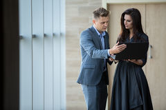 Business portrait of business couple Royalty Free Stock Photography