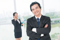 Business positivity Stock Photo
