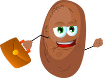 Business potato Royalty Free Stock Images