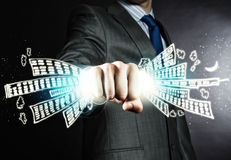 Business power Stock Photography