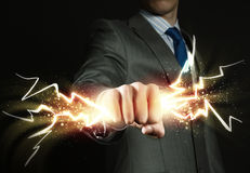 Business power Stock Photo