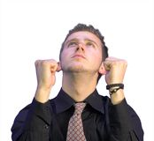 Business power and success Stock Photography