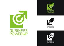 Business Power Up Stock Photo