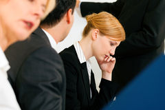 Business Präsentation im Meeting Royalty Free Stock Photos