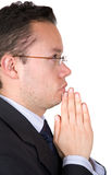 Business prayers Royalty Free Stock Photos