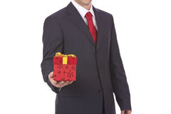 Business present Stock Image