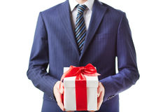Business present Stock Photography