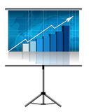 Business presentation. Available  file Royalty Free Stock Photography