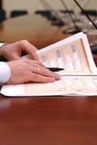 Business presentation Stock Photography