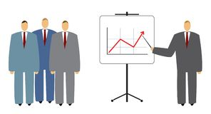 Business presentation Royalty Free Stock Photos