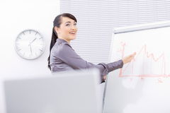 Business presentation Royalty Free Stock Images